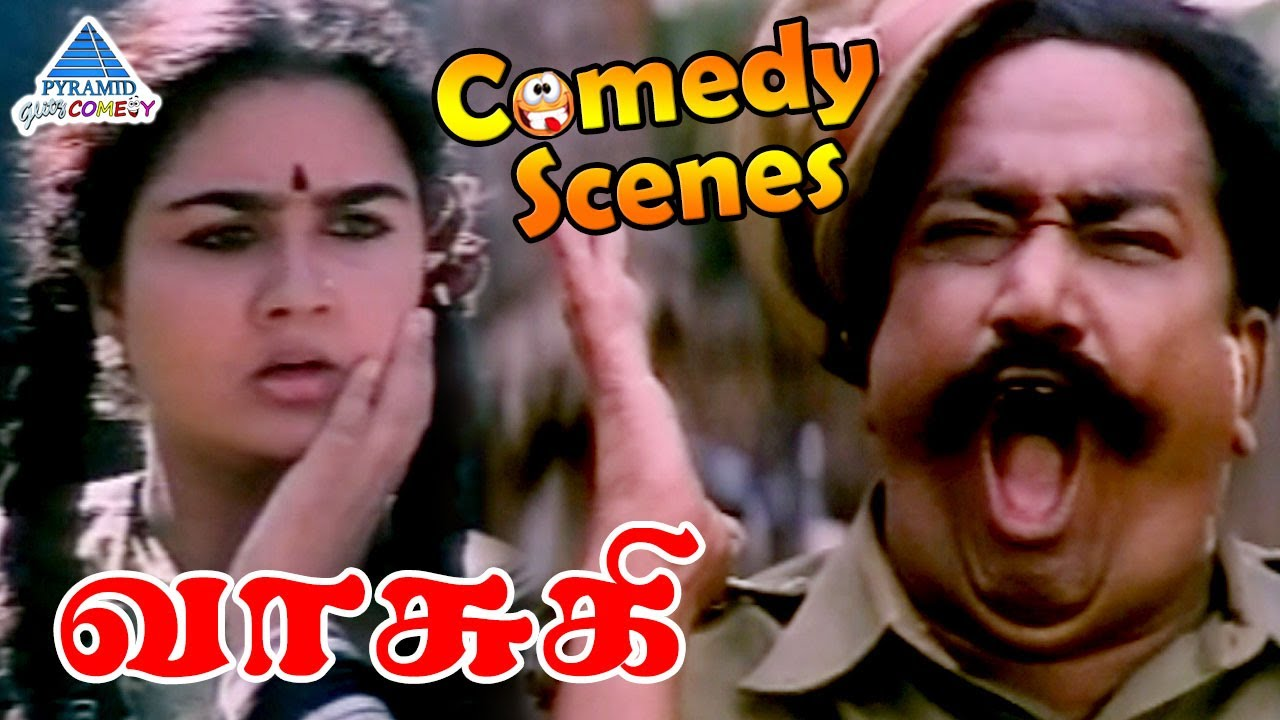 Urvashi Comedy Scenes   Vasuki Tamil Movie Comedy Scenes   Part 1   Visu   Janagaraj   Radha Ravi