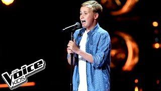 """Staś Szymański – """"One Way Or Another"""" – Przesłuchania w ciemno – The Voice Kids Poland"""