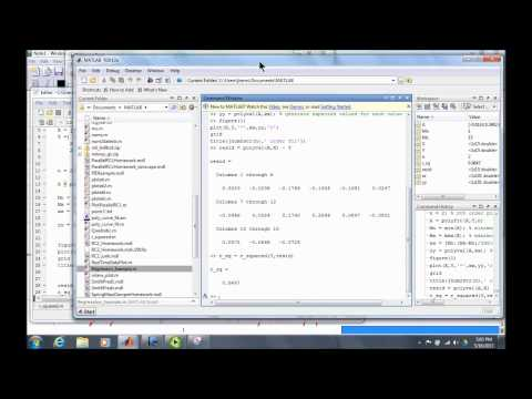 EME 3214 - Matlab Curve Fitting / Regression Example