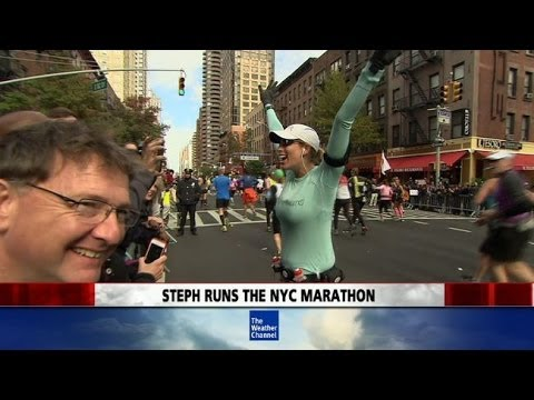 Stephanie Abrams Runs New York City Marathon