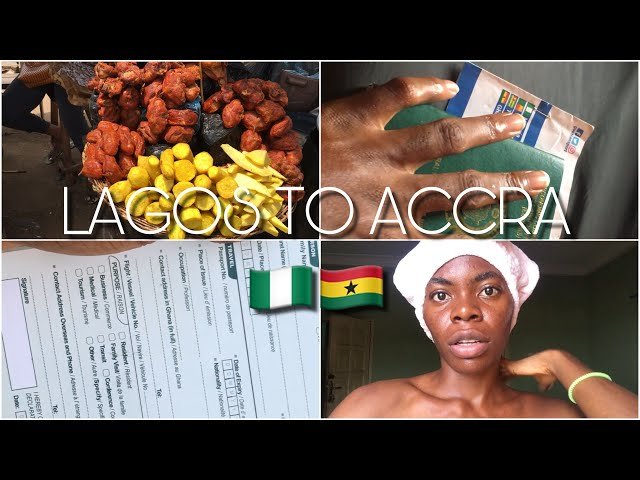 LAGOS TO ACCRA by road - The good, bad and ugly