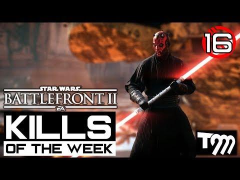 Star Wars Battlefront 2 - TOP 10 KILLS OF THE WEEK #16