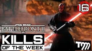 Star Wars Battlefront 2 - TOP 10 KILLS OF THE WEEK #16
