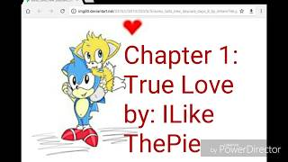 vuclip Blue Bonnie Reads Sonic and Tails True Love Chapter 1