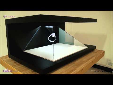 V-Studio Holoconic Hologram showcases 2014