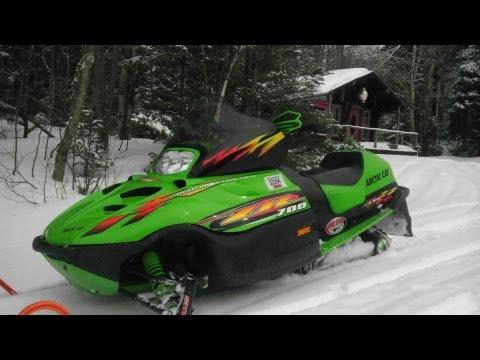 Snowmobileing Pittsburg NH 2012 Gopro