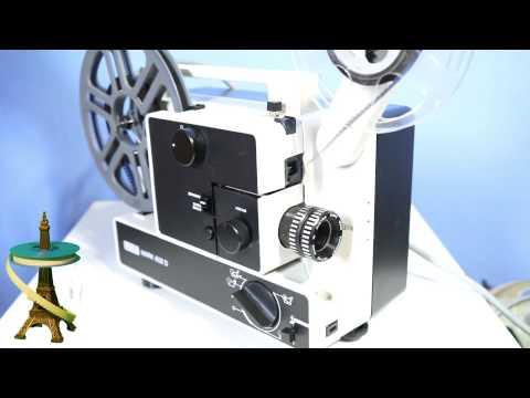 retro tech eumig mark s 712 d 8mm film projector doovi. Black Bedroom Furniture Sets. Home Design Ideas