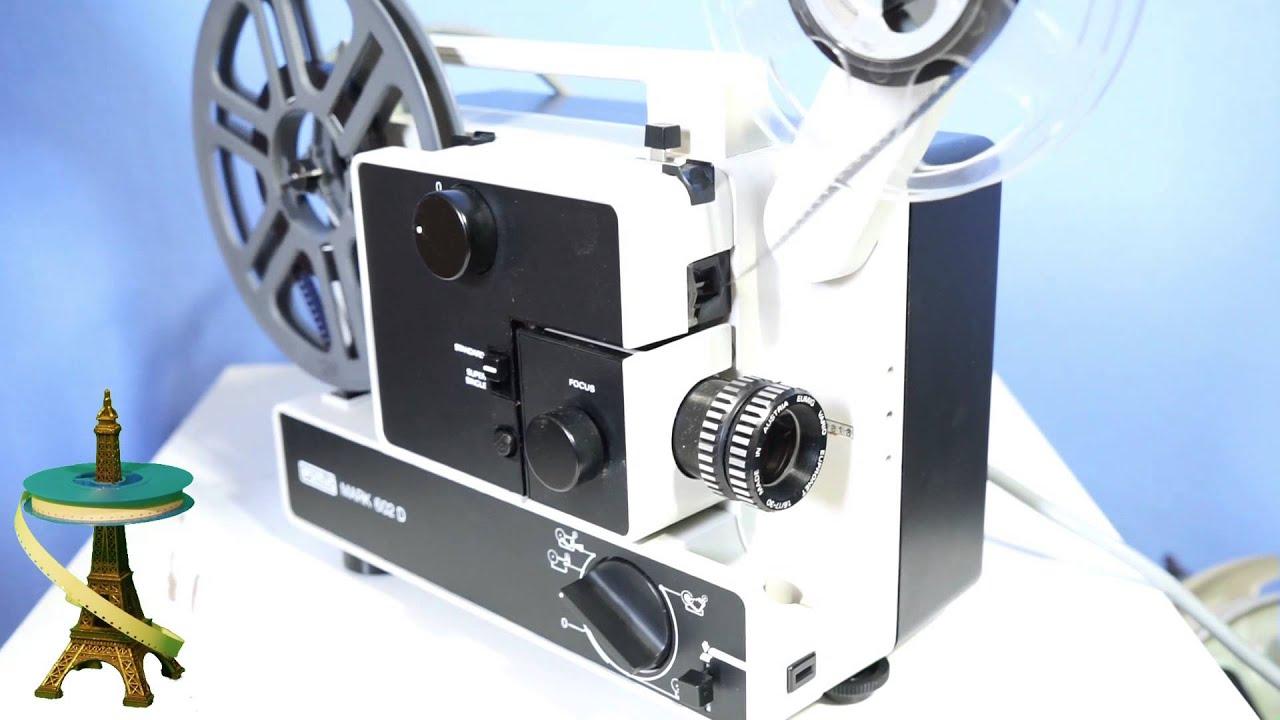 projecteur projector super 8 eumig mark 602d youtube. Black Bedroom Furniture Sets. Home Design Ideas