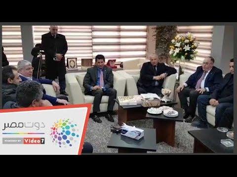 بدء جلسة وزير الرياضة مع اتحاد الكرة  - 15:54-2019 / 1 / 13