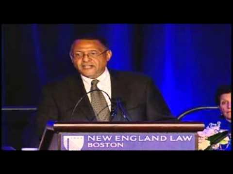 "Massachusetts Chief Justice Roderick Ireland:  Proud of his ""landmark cases"" role"