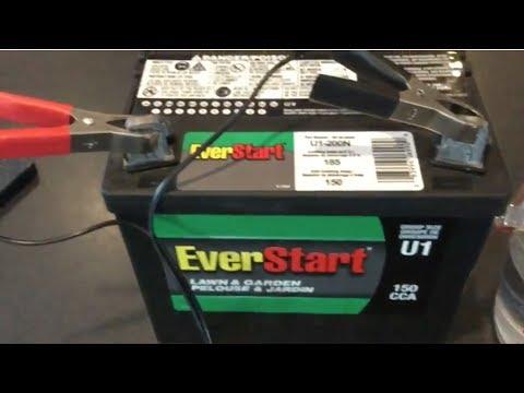 12 volt battery water heater u1 150 cca everstart 40 youtube. Black Bedroom Furniture Sets. Home Design Ideas