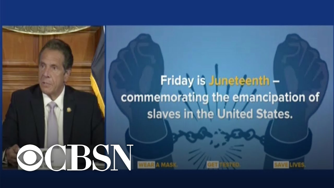 Cuomo says Juneteenth will be a holiday for New York State employees