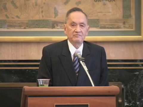 University of Oregon Lecture - Who Owns Taiwan?