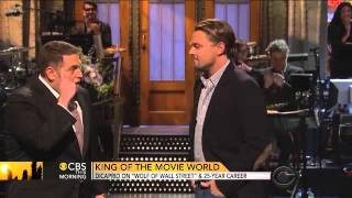Leonardo DiCaprio talks 'Wolf of Wall Street,' 'Titanic'