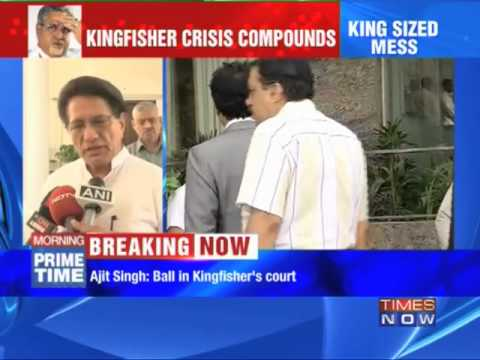 Will Kingfisher Airlines Lockout End?