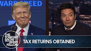 Prosecutors Obtain Millions of Pages of Trump's Tax Records | The Tonight Show
