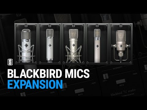 Blackbird Mics for Slate VMS - OUT NOW!
