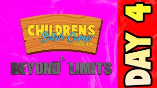Childrens Bible Camp 3.0 - Day 4 | VBS Online (2021)