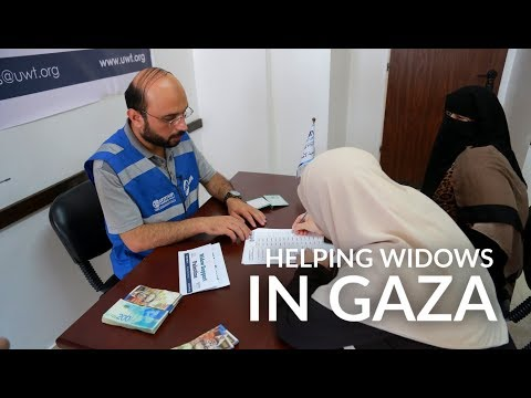 Assistance for Gaza's Widows