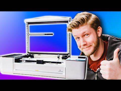 Unboxing a freaking laser - Glowforge Pro