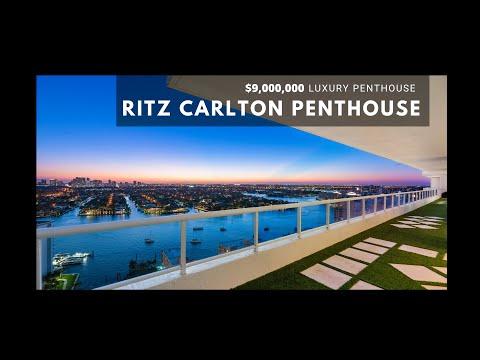 Luxury Penthouse Ritz Carlton Fort Lauderdale Beach