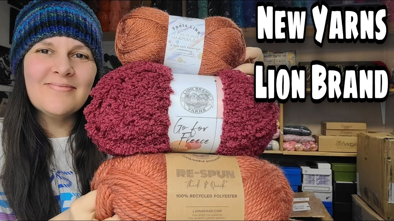 New Yarn   Lion Brand Yarn   Bag O Day Crochet