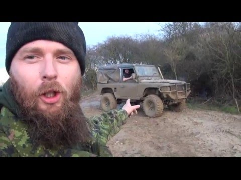 Bugout vehicles off-road