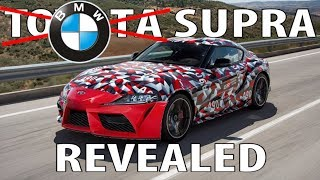 No more camouflage! 2019 Toyota Supra Body Revealed!