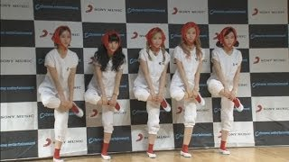 South korean girlband crayon pop perform in seoul