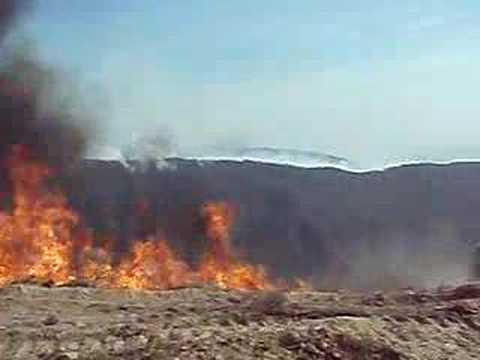 Poomacha Wildfire - California 2007