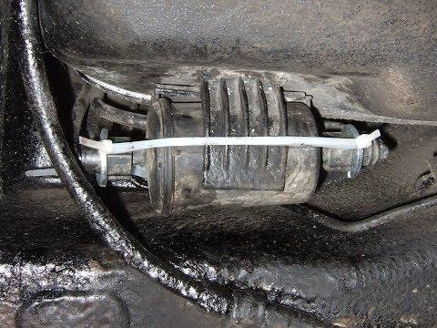 ЛаГранта - Штуцер топливной трубки. Неприятность(