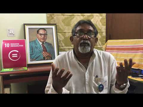 #Act4SDGs Voices - Paul Divakar, Dalit Rights Activist from India, WNTA, GCAP India