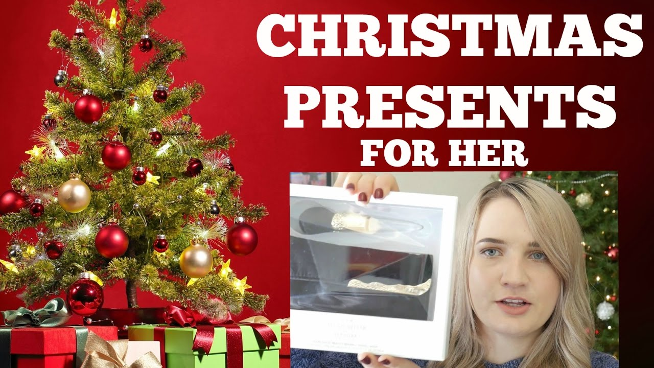 Christmas gifts for her last minute gift ideas youtube for Christmas gift ideas for her