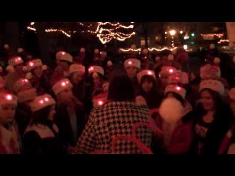 Saratoga School Children Singing at Chapin Park 11/29/09
