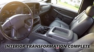04 silverado rcsb 5 speed interior update showcase console swap