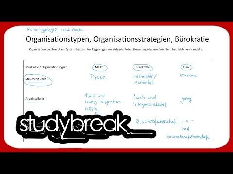 organisationstypen,-organisationsstrategien,-bürokratie-|-betriebswirtschaftslehre