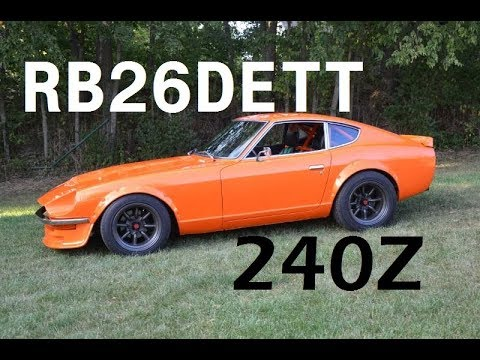 Datsun 240Z RB26DETT Swap Project