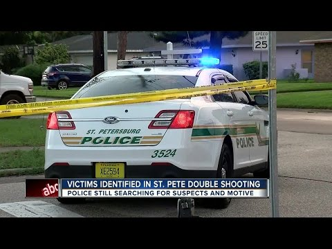 Police search for shooter in double homicide in St. Pete