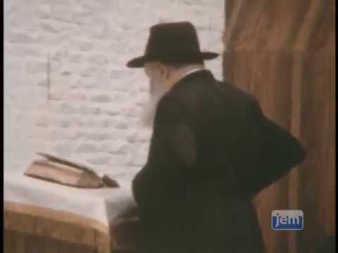 The Lubavitcher Rebbe's Blessing Before Yom Kippur