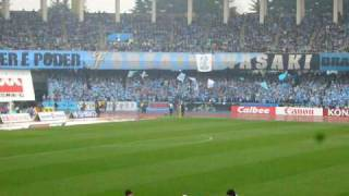 2010 Jリーグ開幕戦 川崎フロンターレ VS アルビレックス新潟。 川崎市...
