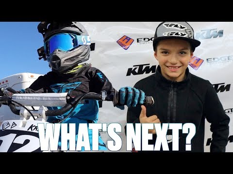 END OF YEAR MOTOCROSS AWARDS | DIRT BIKE RACING TROPHY | WHAT'S NEXT FOR KREW'S MOTOCROSS CAREER?