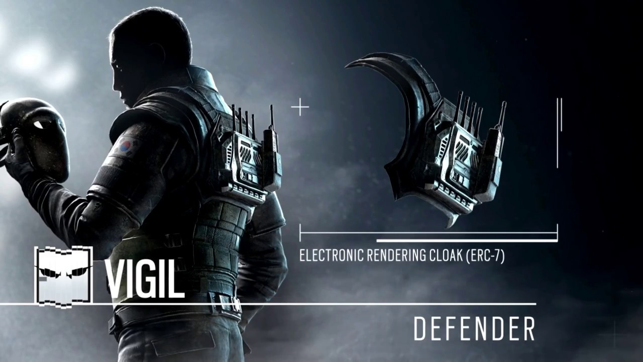 Vigil abilities loadout reveal youtube - Rainbow six siege vigil wallpaper ...