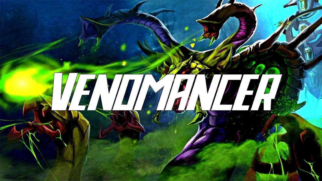 Dota 2 Venomancer Jungle 705 YouTube
