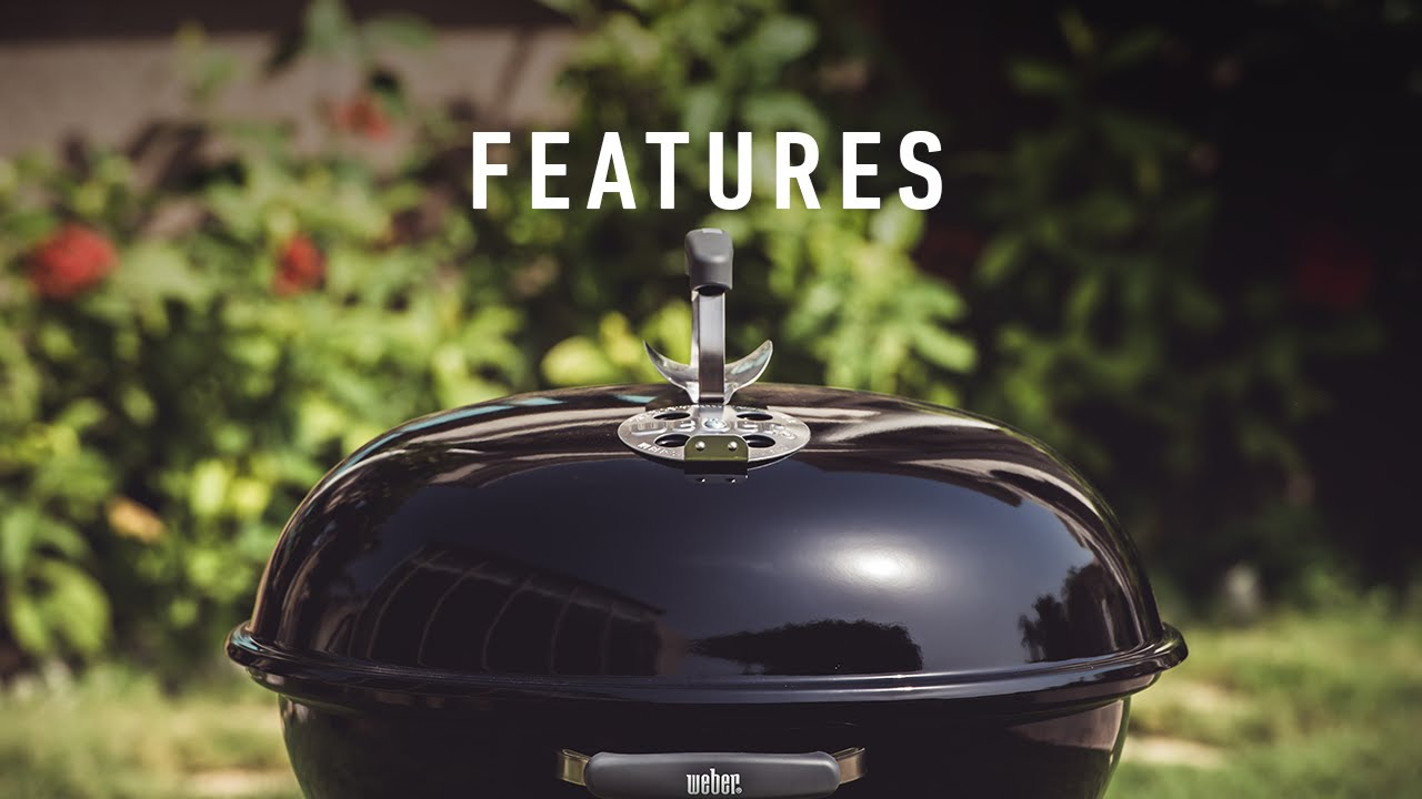 Weber Holzkohlegrill Compact Kettle 57 Cm : Compact kettle cm features youtube