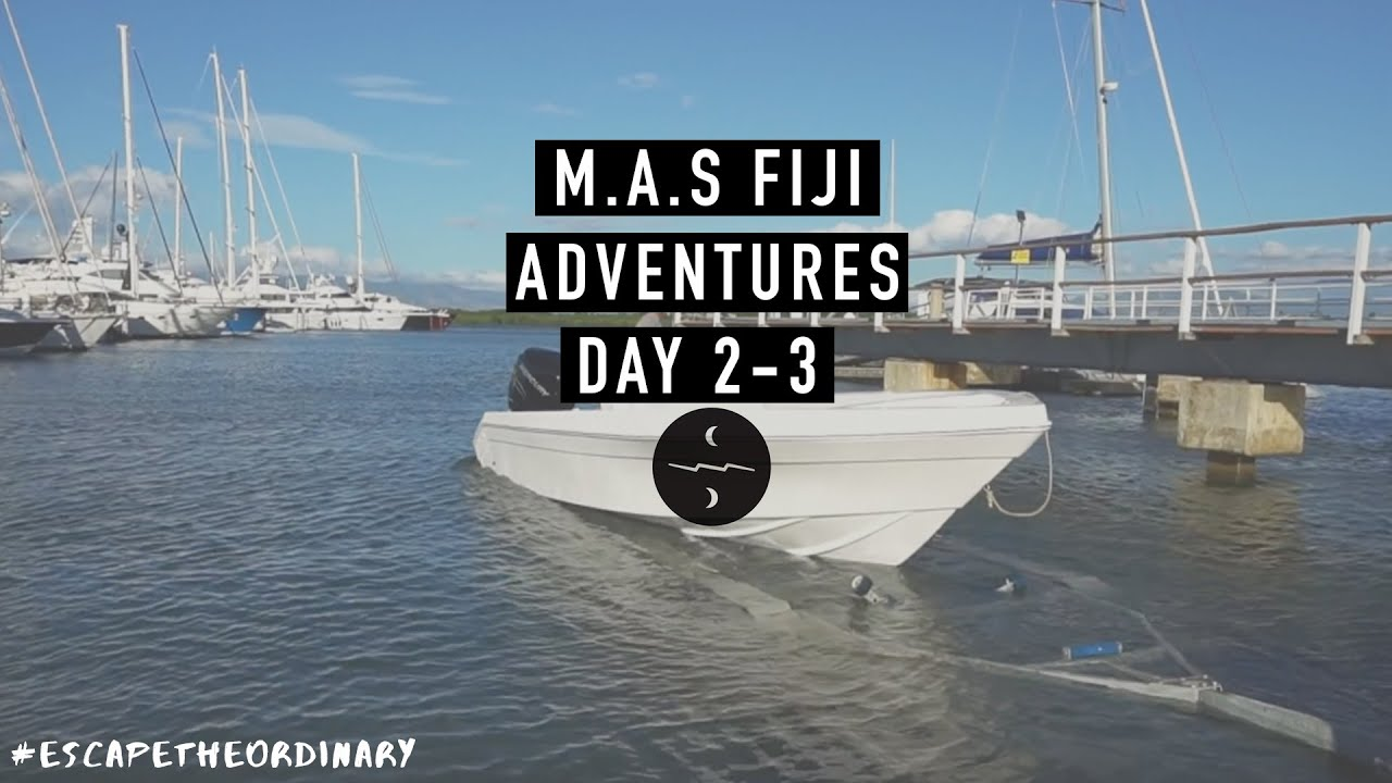 Fiji Fishing Adventures (setting up the boat day 2/3)