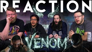 VENOM - Official Trailer REACTION!!