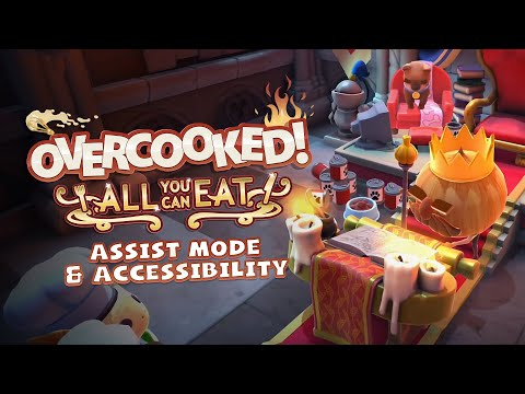 Overcooked! All You Can Eat - Assist Mode & Accessibility Trailer
