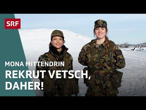 Mona Vetsch in der Rekrutenschule | Mona mittendrin 2019 (1/4) | Doku | SRF DOK