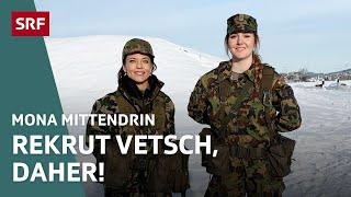 Mona Vetsch in der Rekrutenschule | Mona mittendrin 2019 | Doku | SRF DOK