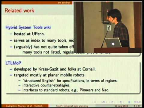TuLiP: a toolbox for hybrid and reactive systems research